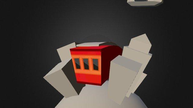 Cardboard postcard test 3D Model