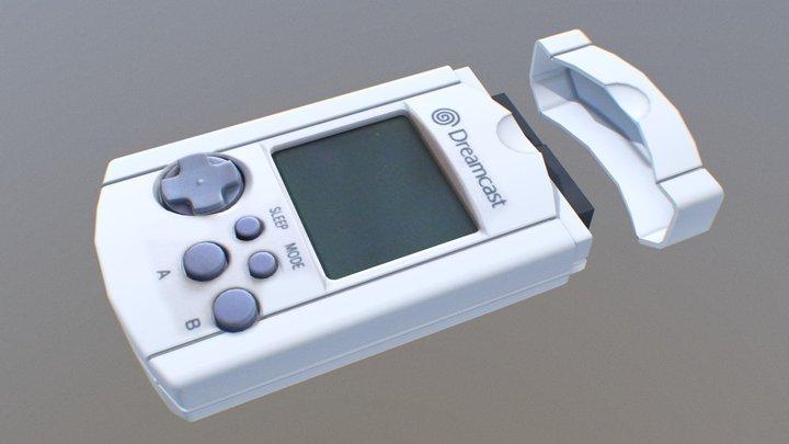 Dreamcast vmu 3D Model