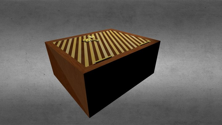 Andalousian Dog Box 3D Model