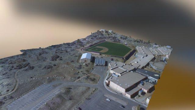 Cheyenne Mountain Baseball Field 3D Model