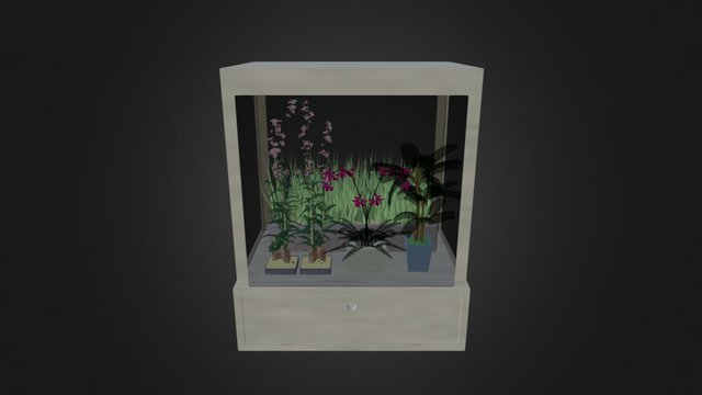 Digital Learning Green House 3D Model