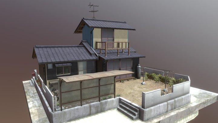 """Shouwa Minka"" 80's Japanese house 04 3D Model"