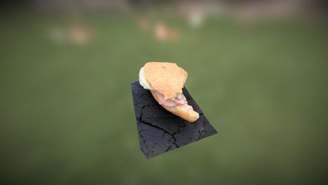 Sandwich 3Dscan 3D Model