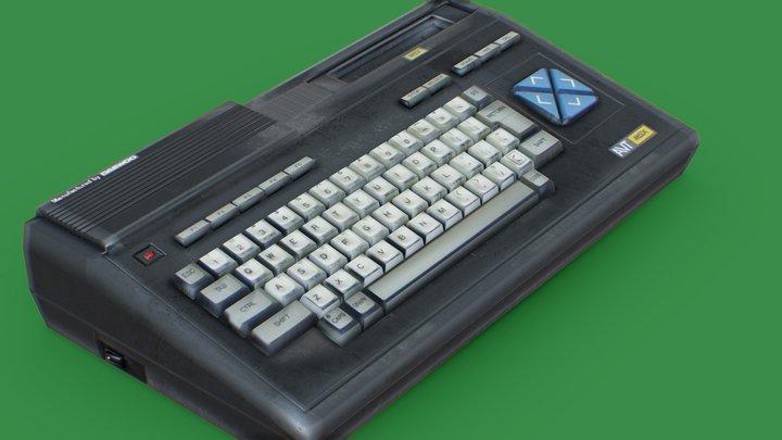 MSX DCP-200 3D Model