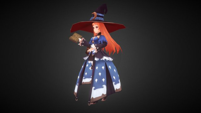 Witch-sketchfab 3D Model