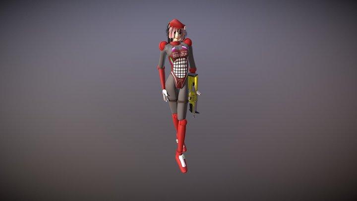 時空潮汐力駆逐艦・卯月(改1) 3D Model