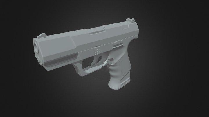 Walter_P99_Draft 3D Model