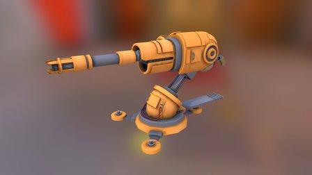 Junky Blaster 3D Model