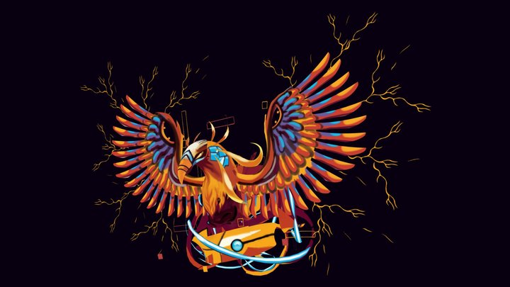 Electric Phoenix 3D Model