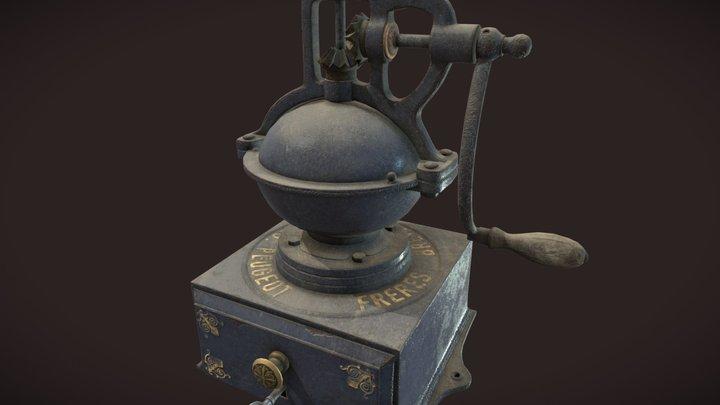 Safe Keep Coffee Grinder 3D Model
