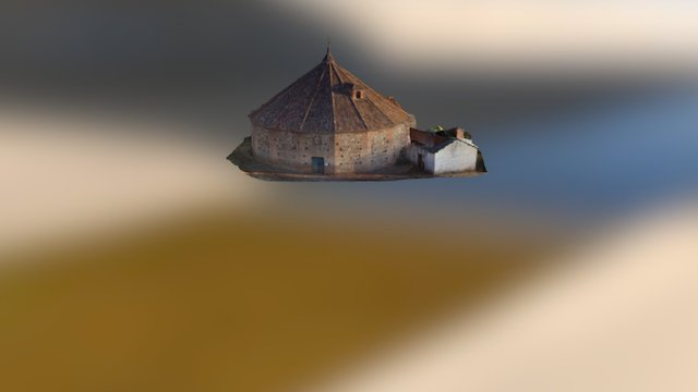 Baritel de San Carlos de Almadenejos. 3D Model