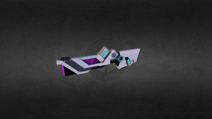 Torrent Shotgun 3D Model
