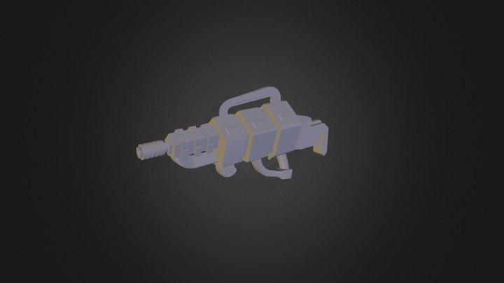 SpaceGun003 3D Model