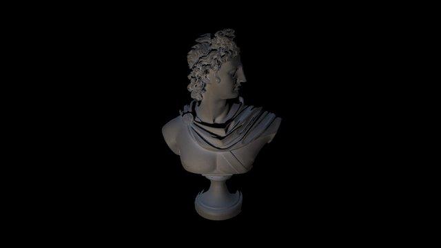 3D Scan of a statue 3D Model