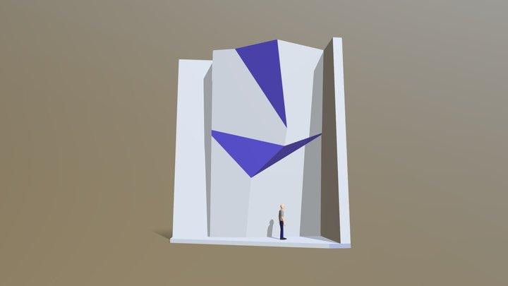 Скалодров вариант 2 3D Model