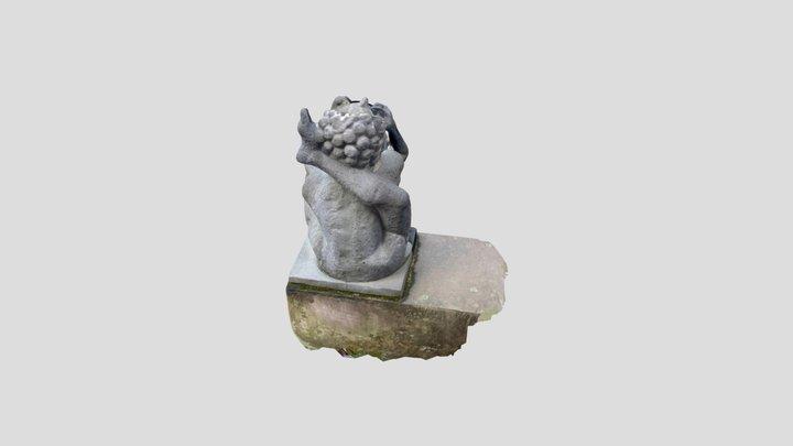 Scheinwasserspeier Akrobat 3D Model