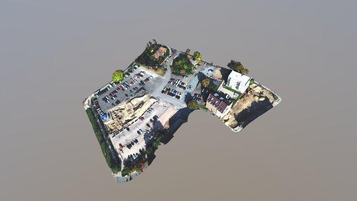 Inselplatz Jena Oktober 2018 3D Model