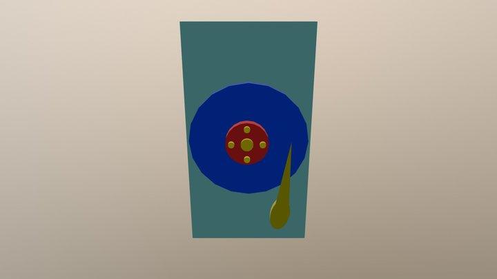 Disco duro 3D Model