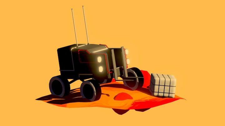 The Heavier_Vehicle from God s' Margarita 3D Model