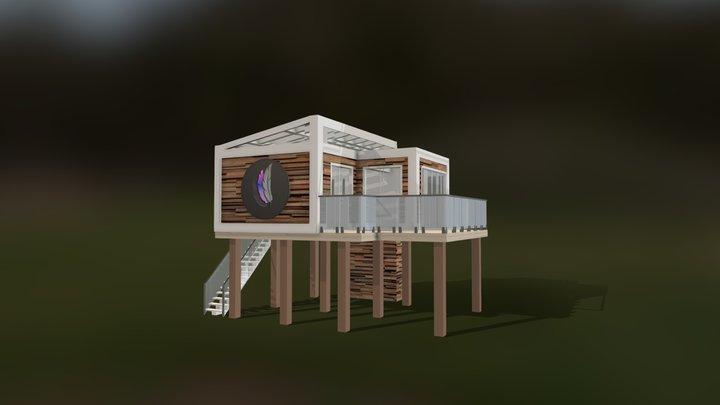 3PF Virtual Office 3D Model