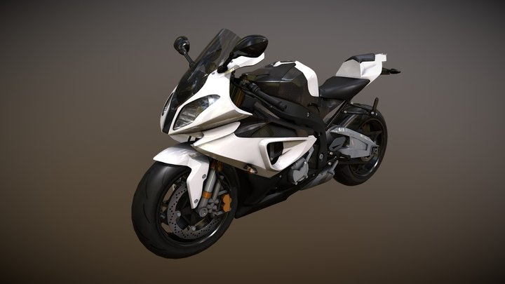 BMW S1000RR for DIS 3D Model