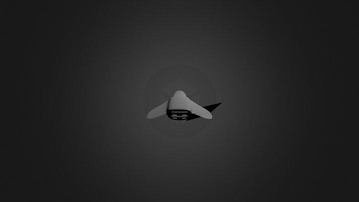 Redone Spaceship 3D Model