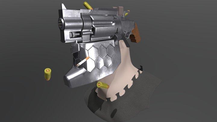 Inui Jūzō from No Guns Life 3D Model