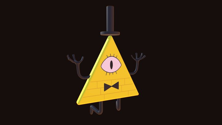 Bill Cipher 3D Model