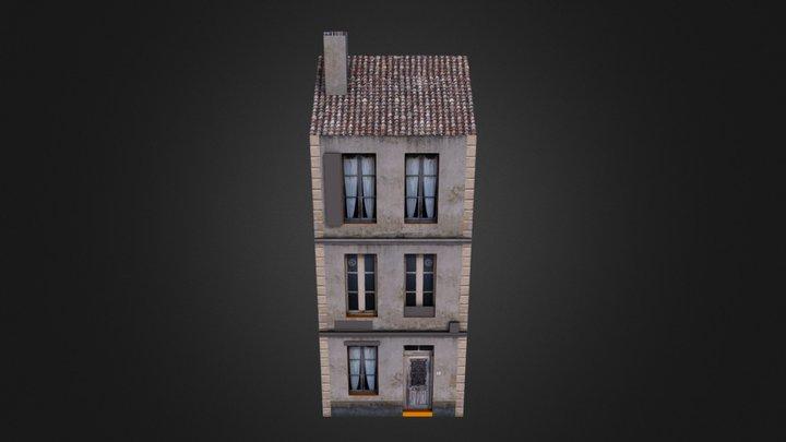 French House upload test 3D Model