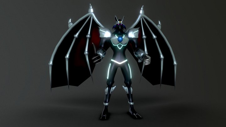 Elemental Hero Chaos Neos (Yugioh) 3D Model