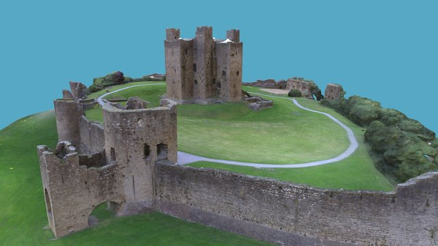 3D Model of Trim Castle 3D Model