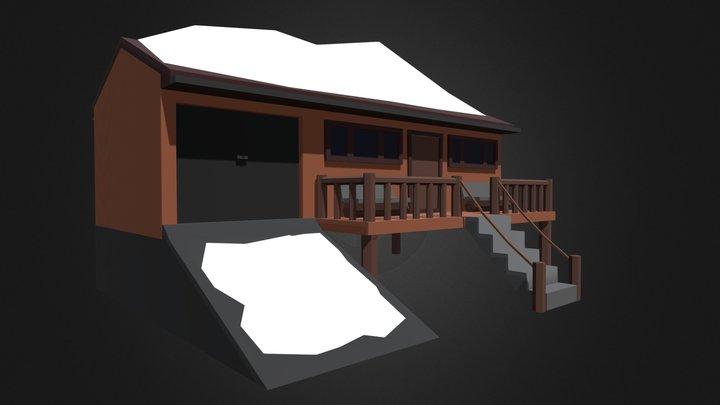 LOW POLY COTTAGE 3D Model