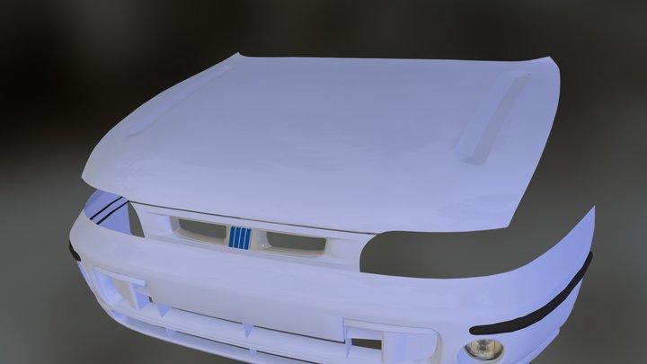 Fiat Brava Facelift Front 3D Model