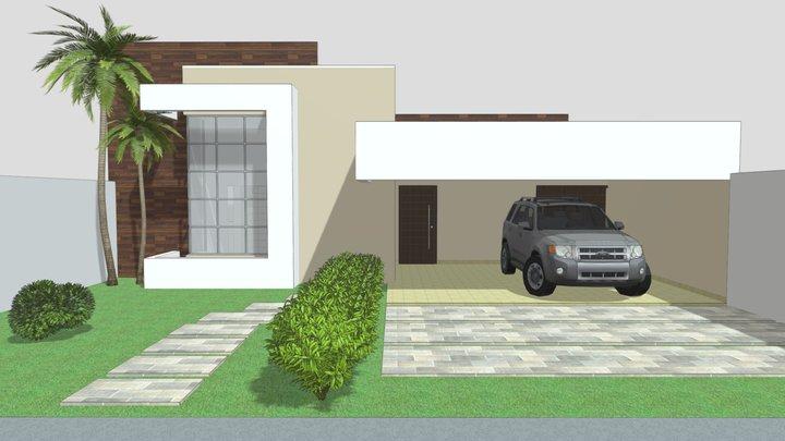 Proposta arquitetônica 02 3D Model