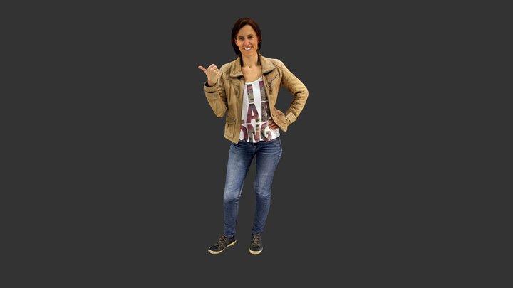 Jutta Kirschner 3D Model