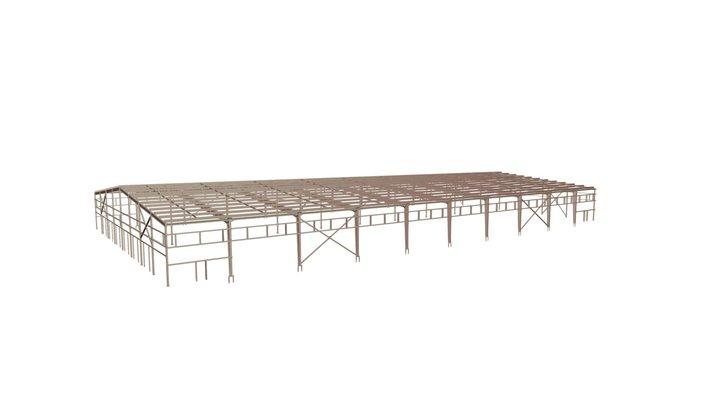 00896 Склад Warehouse 3D Model