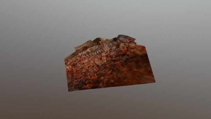 Cerro Gavilán 1 3D Model