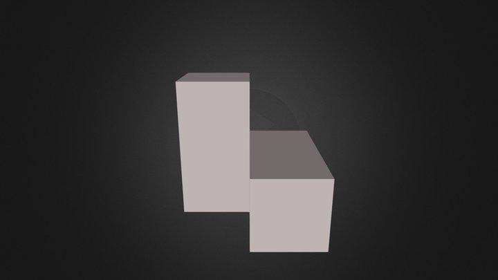 white cubes 3D Model