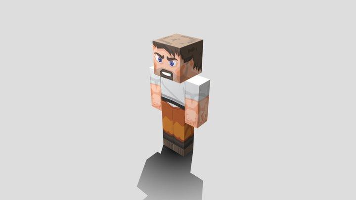 minecreaft skins prisonier 3D Model