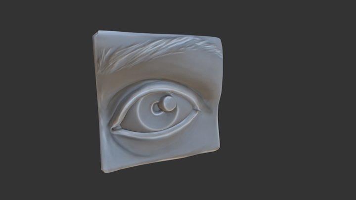 Anatomy Study - Eye 3D Model