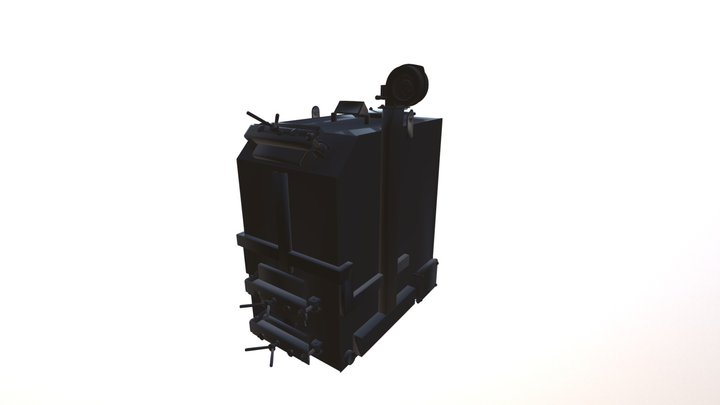 Kotel 3D Model