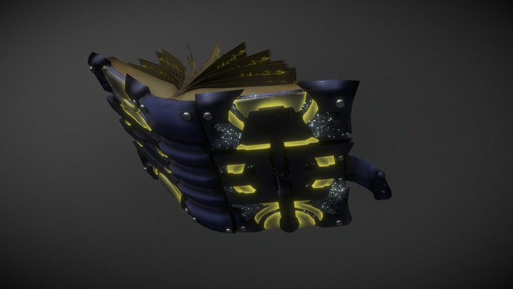 Paladin's Book Challenge 3D Model