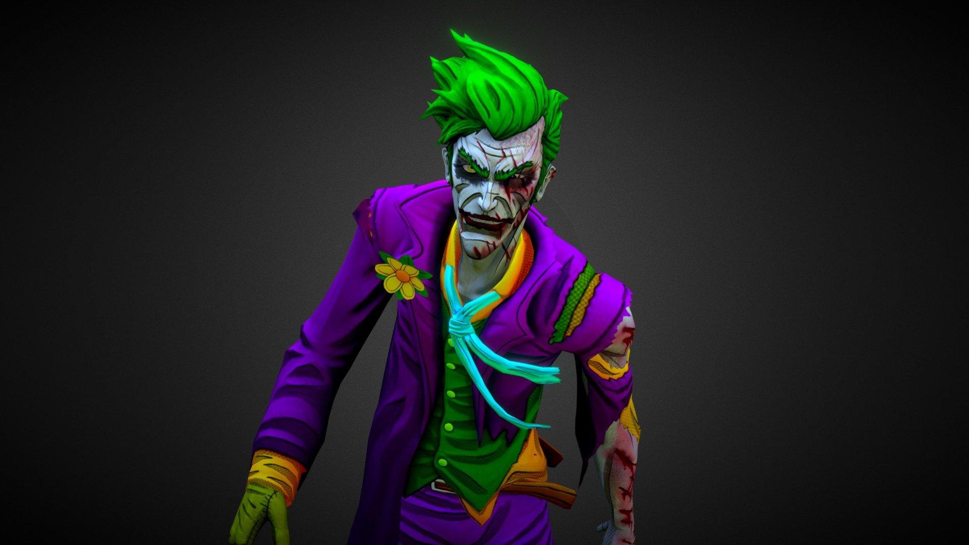 Joker Final Stand Download Free 3D Model By Yulius Krisna