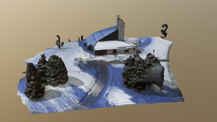 Kolstad Kirke 3D Model