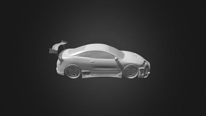 Modified Eclipse GSX (WIP) 3D Model