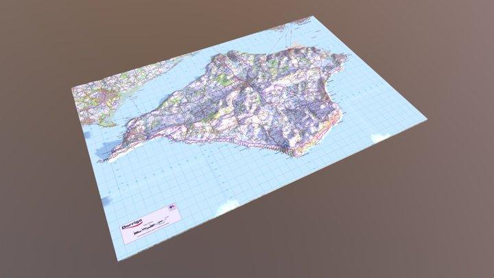 Isle of Wight 3d model 3D Model