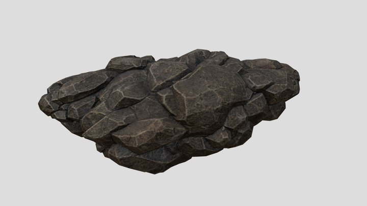 Rock B 3D Model