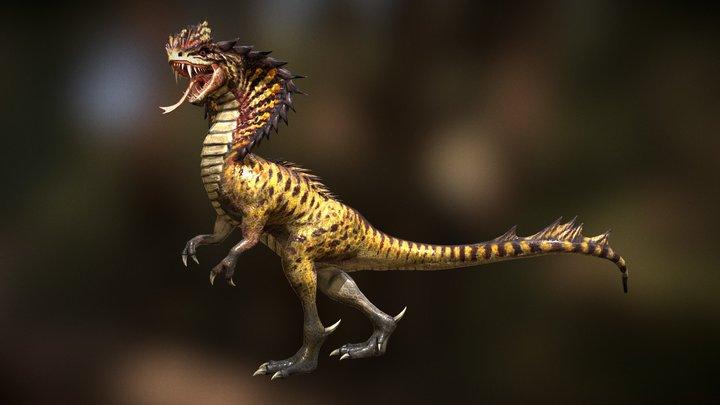 Cobrasaurus 3D Model