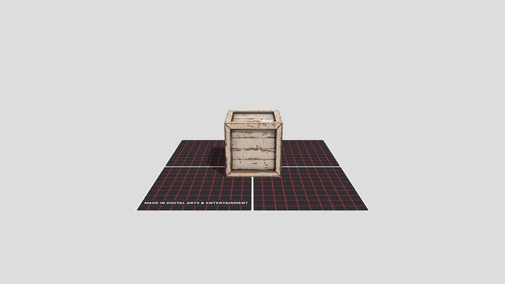 Crate Model 3D Model
