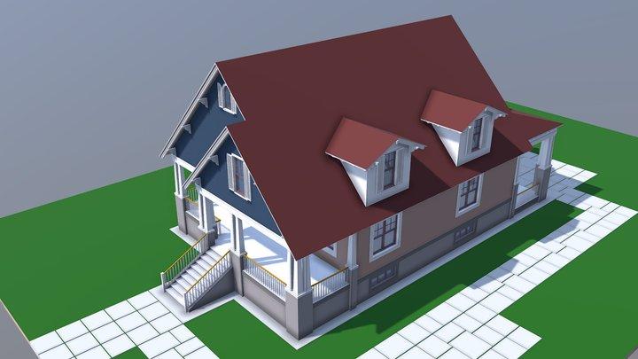 NEOarch Cottage SB 006 3D Model